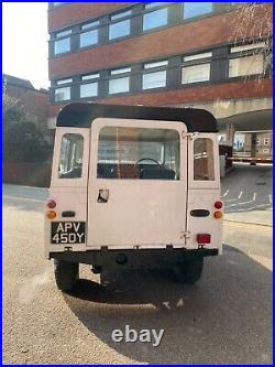 Land Rover Series 3 88 Petrol Low Reserve