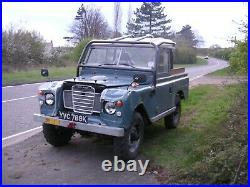 Land Rover Series 3 III SWB 88 1972 Galvanised Chassis Tax / MOT Exempt