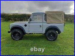 Land Rover Series 3 Pickup 1971 200 TDI Diesel Grey Tax Class Historic Vehicle