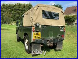 Land Rover Series 3 SWB 1982 2.25 Diesel