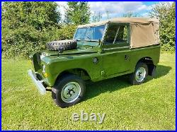 Land Rover Series 3 SWB 88 Rebuilt on New Galvanised Chassis Almost Nut & Bolt