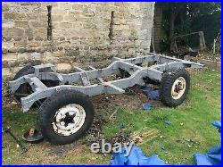 Land Rover Series II Rolling Chassis Project