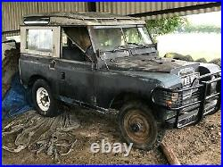 Land Rover Series Three 88 1972 2286 Petrol Project Barn Find