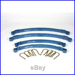 Land Rover Short Wheel Base Series 2, 2A and 3 parabolic leaf spring kit