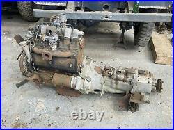 Land Rover series 1 1.6 Engine & Free Wheel Gearbox