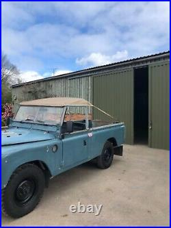 Land Rover series 3 109 2.6l 6cyl