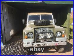 Land Rover series 3 1970