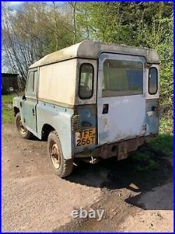 Land Rover series 3 Diesel 88
