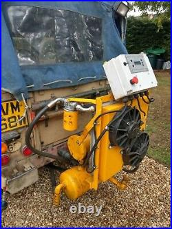 Land Rover series Broomwade compressor PTO Airdrive