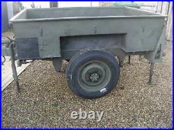 Land Rover series Sankey 3/4 ton military trailer