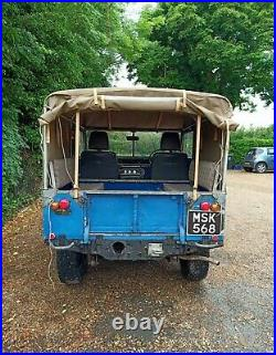 Land Rover series one, 1949, 80, soft top
