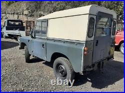 Land rover Series 3 1976 2.25 Diesel Swb Project