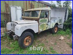 Land rover series 1 109 project