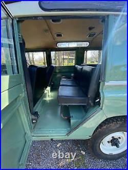 Land rover series 3 109 safari station wagon