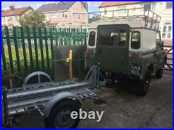 Land rover series 3. 2.5 diesel. Galvanised chassis. Tax mot exempt