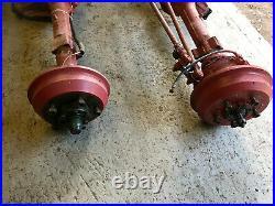 Land rover series 3 axles (diesel land rover)