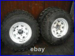 Landrover off road wheels and tyres