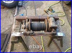 Pto Winch Series Land Rover, Vintage Tractor