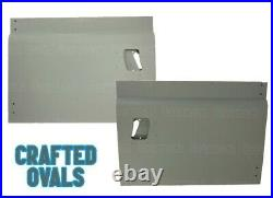 RH & LH Front Door Lower/Bottom Panels for Land Rover Series 2/2a & 3- 395533/34