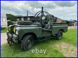 Rare 1979 series 111 Mine protected Landrover