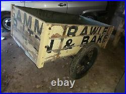 Retro vintage trailer Austin seven braked series 1 land rover