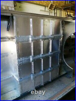 Series 2 2A 3 Land Rover rear Tub built ready to paint