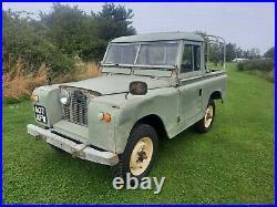 Series 2 land rover 1961 original paint