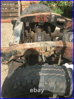 Series 2A land rover lwb 109 rolling chassis with V5 Historic Vehicle