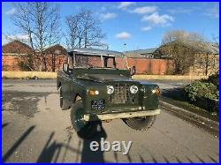 Series 2a Land Rover with rare PTO Plumettt winch