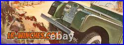 Series Landrover Fairey Capstan Winch Complete Setup Classic