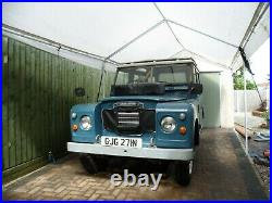 Superb Genuine Land Rover Series 3 Station Wagon -1975N New Galvanised Chassis
